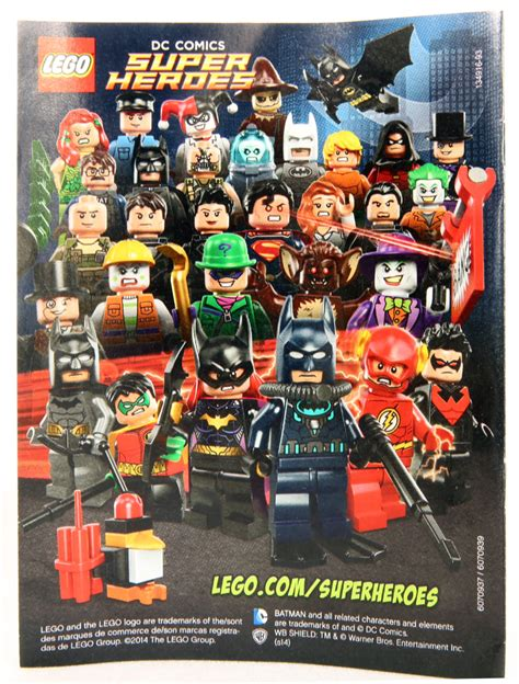 Blind Hero Movie A First Look At Lego Dc Super Heroes 2014 Minifigures