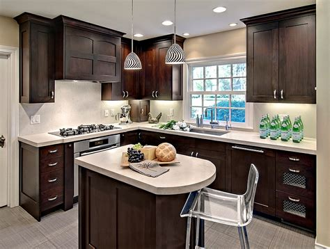 pictures of small kitchen islands small kitchen remodel with island picture of kitchen