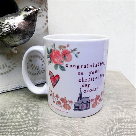 mug design for christening personalised christening mug by alice palace