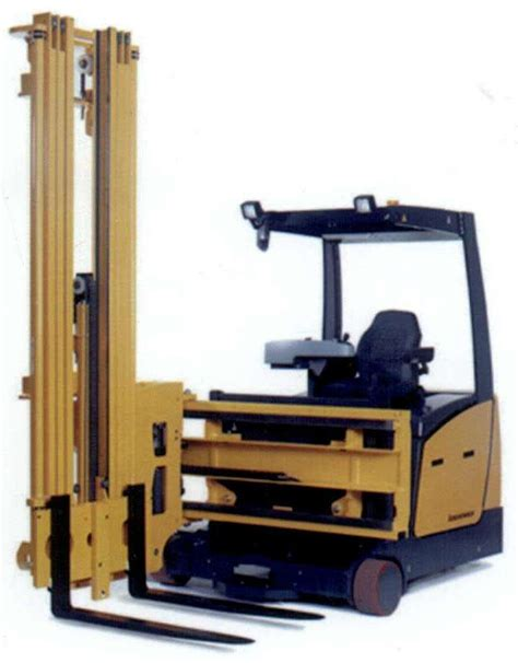 swing reach forklift swing reach stacker forklift truck provides ultimate