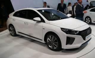 hyundai ioniq hybrid showcased at auto china 2016