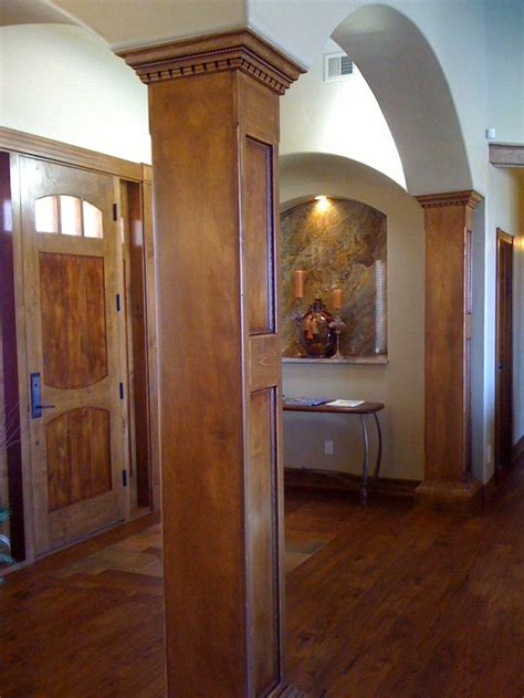Wood Columns Interior by 1000 Images About Column Ideas On Craftsman