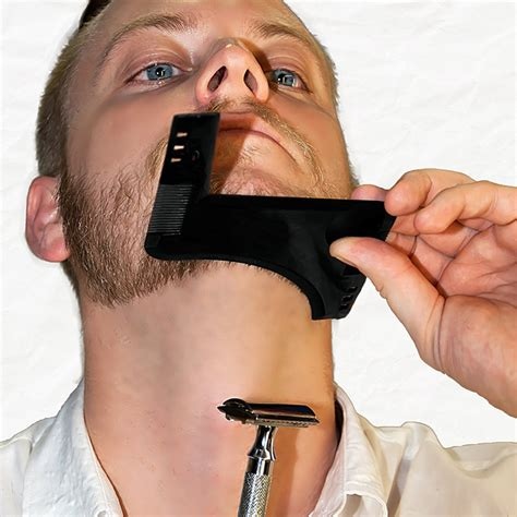 how to shave hair parting with clippers beard hair trimmers comb hair care styling man shaping