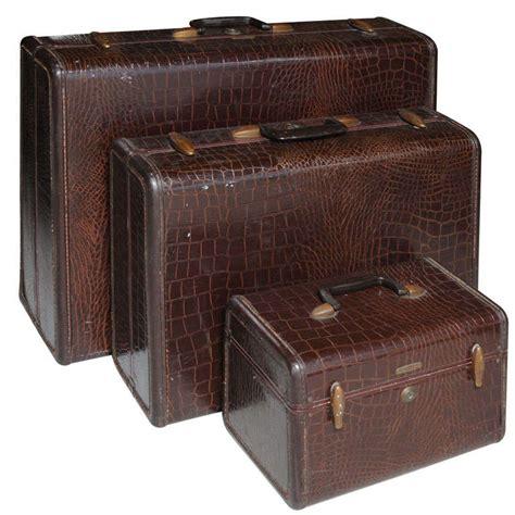 vintage set of samsonite luggage at 1stdibs