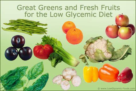 vegetables glycemic index low glycemic index diet guidelines recipes and foods