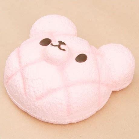 Squishy Bun Animal Jumbo scented pink jumbo animal melon bun bread squishy by