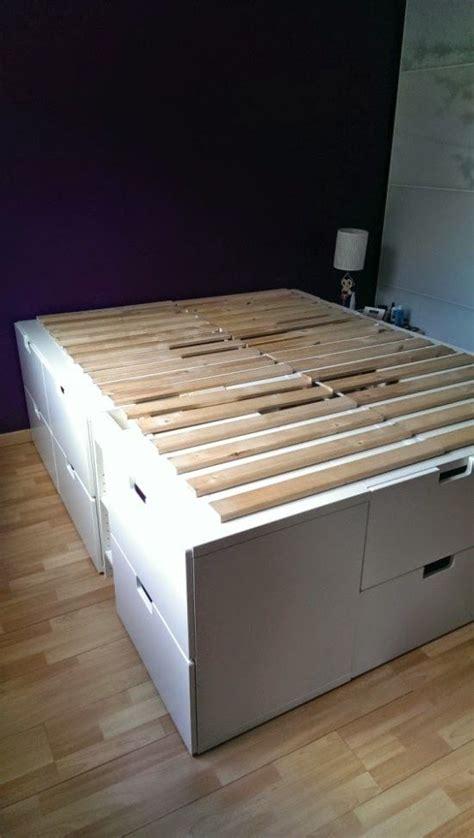 ikea hacks platform bed 17 best ideas about ikea storage bed on pinterest ikea