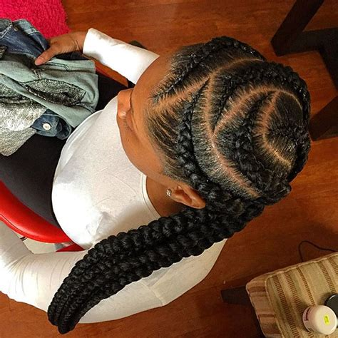 feeder braids feed in braids sak s board pinterest hair style
