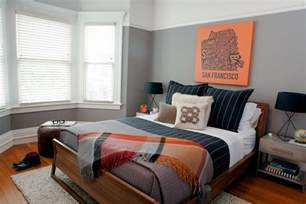 bachelor pad bedroom modern one bedroom bachelor pad regan baker hgtv