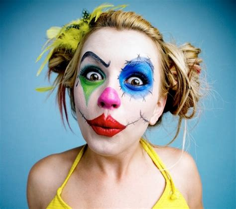 Halloween Decoration Ideas Home by Clown Makeup Ideas For Halloween And Tips For The Costume