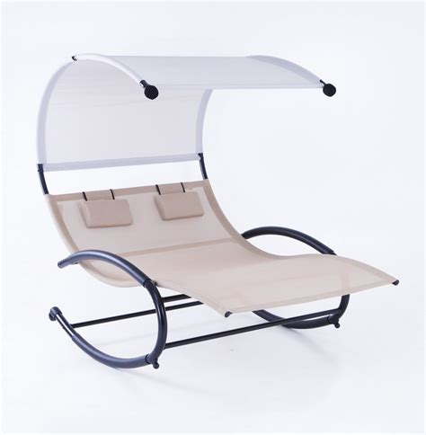 2 Person Lounge Chair by 2 Person Lounge Swing Chair W Canopy Sun Shade Rocking