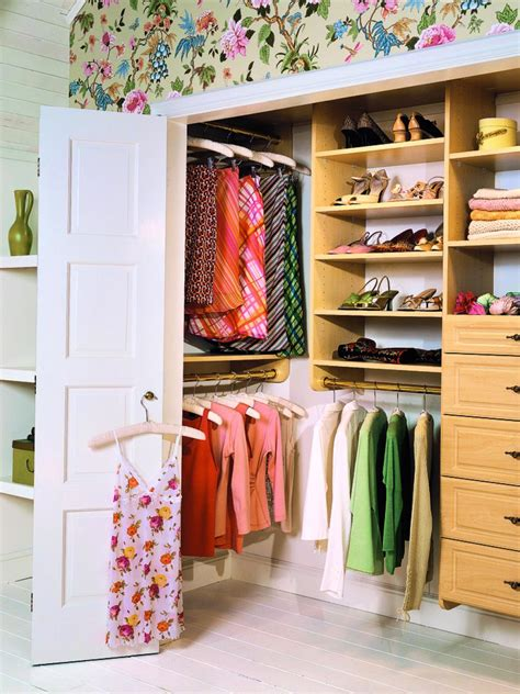 how to remodel a closet 10 stylish reach in closets hgtv