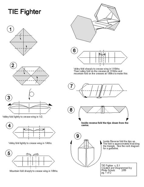 How To Make A Origami Wars Ship - 25 best ideas about tie fighter on darth