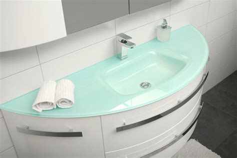 Corian Vanities Glass Bathroom Sink 151cm Modern Bathroom Sinks