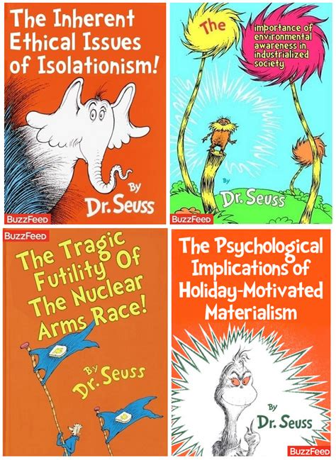 Dr Seuss Memes - tastefully offensive what dr seuss books are really about