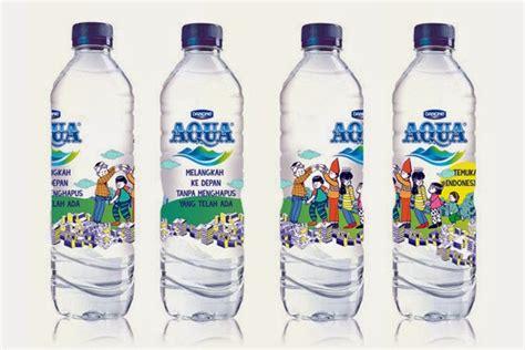 Label Botol Aqua 330ml sanchia draws aqua quot temukan indonesiamu quot label design