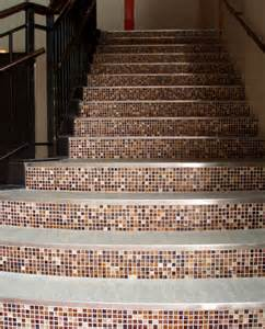 Tiles For Stairs Design Gallery Wheatfield Aventuring Glass Mosaic Tile Staircase Mosaic Tile Warehouse