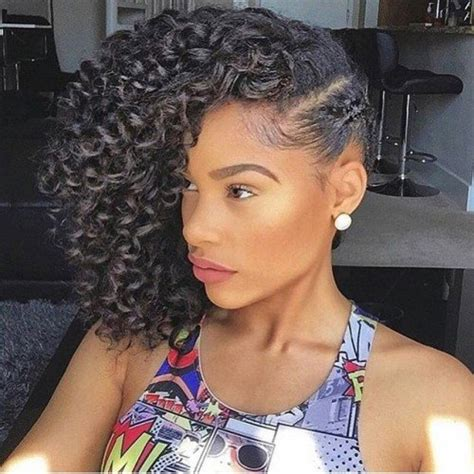 One Braid Black Hairstyles by 48 Crochet Braids Hairstyles Crochet Braids Inspiration