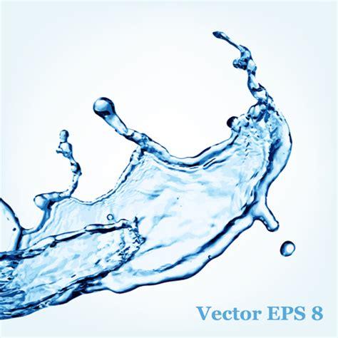water effect design vector transparent water splash effect vector background 15