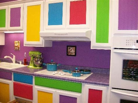 Colorful Kitchen Cabinets Cherry Kitchen Cabinets And Stylish Rustic Kitchen Modern Color Combination Ideas For