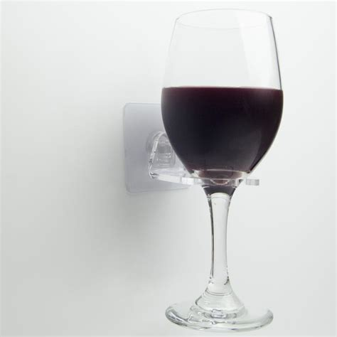 Wine Holder For The Shower by Wine Time Wine Glass Holder For The Shower Jimmyhook