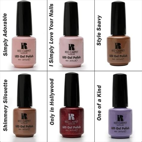 carpet manicure colors new gel colors from carpet manicure the nail