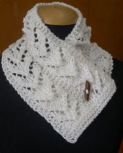 tejido de estolas sencillas maria buenos aires cuellos tejidos o mini bufandas