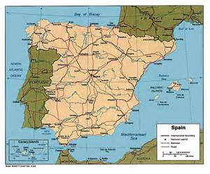 Map If Spain by Spain Maps