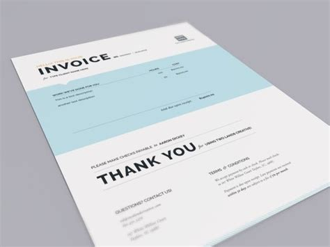 logo design invoice template 25 best ideas about invoice design on invoice