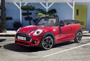 2016 mini cooper works convertible revealed