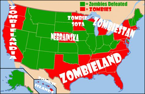 states place where to live in a zombie apocalypse business insider