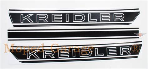 Kreidler Tankaufkleber by Moped Garage Net Kreidler Florett Rs Rmc Tankaufkleber
