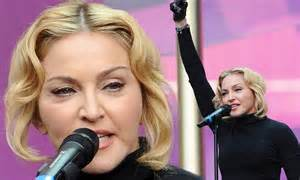 michael k williams madonna video sound of change 2013 madonna s swollen appearance
