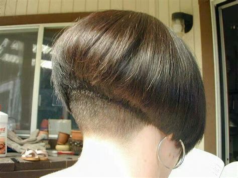 beautiful bob haircut with nape part 2 gorgeous bob by beautiful nape bobbed hair short and blunt pinterest