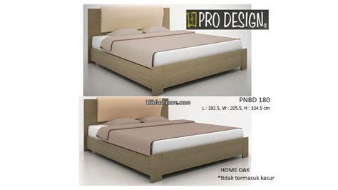 Ranjang Kayu Ukuran 180x200 pnbd 180 ranjang kayu pro design promo sale