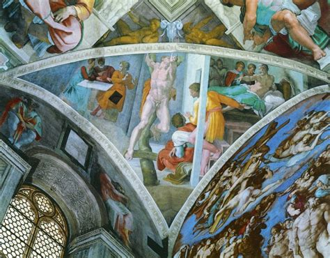 Michelangelo And The Sistine Chapel Ceiling by Michelangelo S Jews Z E T E O