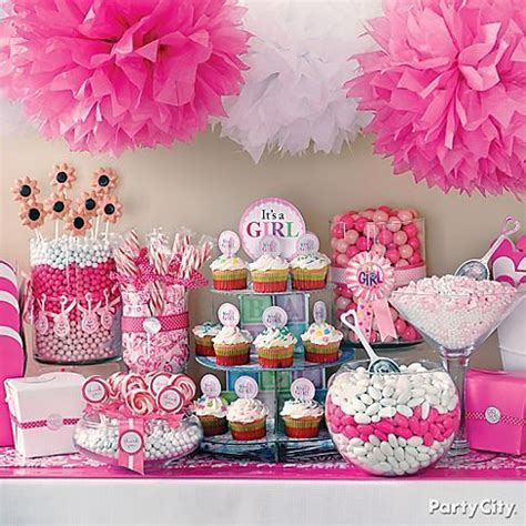 baby girl shower table setting baby shower pinterest pinterest baby shower ideas for girls cute baby shower