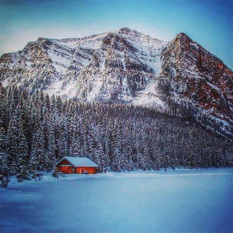 Frozen Cabin by Explore Alberta Through Instagram Our Rocky Mountain Adventure