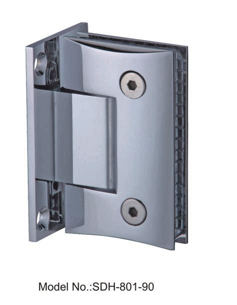 90 degree bevel edged style shower door hinges glass