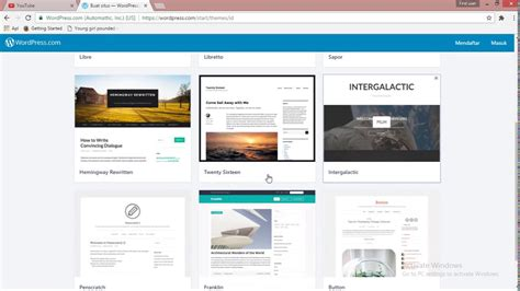 membuat website profesional dengan wordpress membuat web interaktif dengan wordpress tutorial membuat