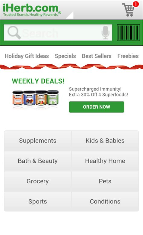 Iherb Gift Card - iherb android apps on google play