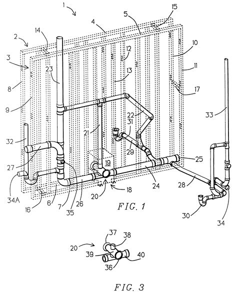 Water Closet System by Patent Us6301838 Waste Discharge System Comprising Water