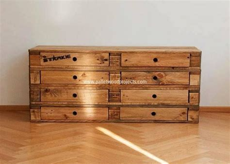 bedroom dresser building plans wooden pallet dressers with drawers pallet wood projects
