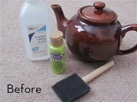 how to paint ceramic 187 curbly diy design amp decor