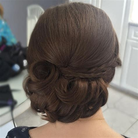 hairstyles for thick hair updos 54 easy updo hairstyles for medium length hair in 2017