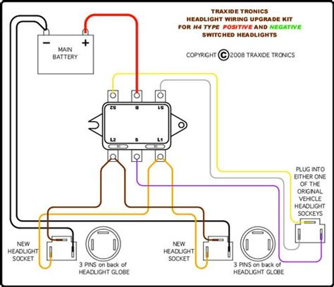 headlight wiring upgrade diagram new wiring diagram 2018
