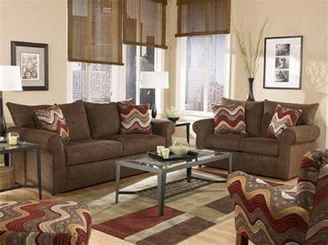 Living Room Color Schemes For Brown Furniture Wohnzimmer Braun Wohnzimmer Inspirationen Der Braunen