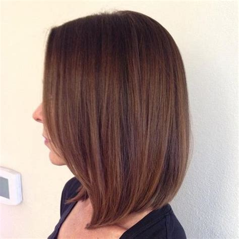 rich brown bob hair styles 30 amazing blunt bob hairstyles to rock this summer short
