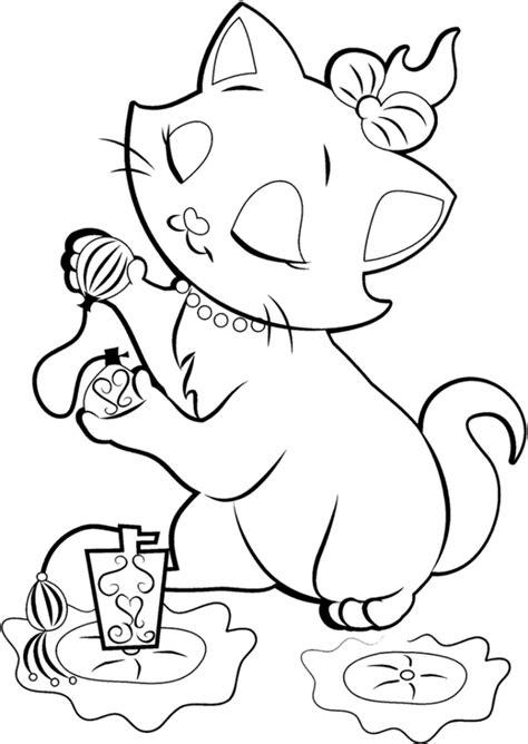 disney coloring pages a4 imagens para colorir da gatinha marie da disney