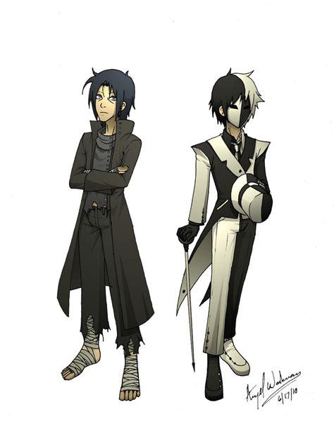 samurai brother vs ninja sister rogue ninja by xeinzeru on deviantart